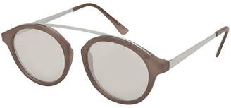 Topshop Larry Bridgeless Tortoiseshell Sunglasses