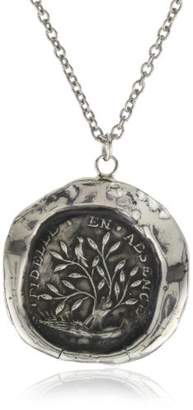 "Pyrrha talisman"" Sterling Fidelity Necklace"