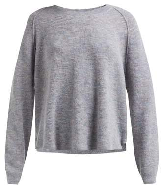 Acne Studios Variegated Ribbed Knit Sweater - Womens - Grey Multi