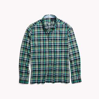 Tommy Hilfiger Seated Fit Plaid Shirt