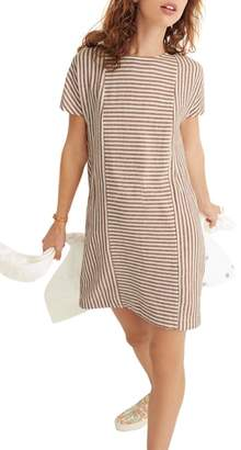 Madewell Daphne Stripe Button Back Dress