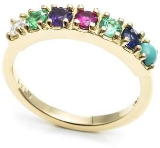 Lulu Frost CODE Word Dearest Ring 18k Gold