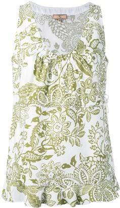 Fay floral print tank top