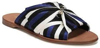 Diane von Furstenberg Bella Asymmetrical Slide Sandal (Women)
