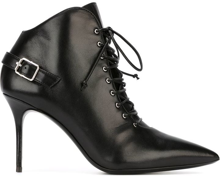 Giuseppe Zanotti Design buckle detail ankle boots
