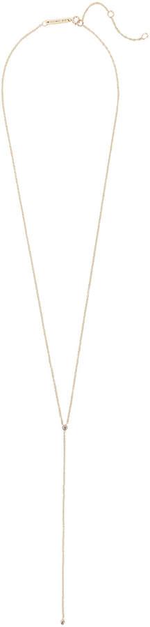 Zoe Chicco Bezel Diamond Lariat Necklace