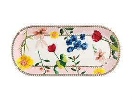 Maxwell & Williams Teas & C'S Contessa Oblong Platter 25 x 11.5Cm Rose Gift Boxed