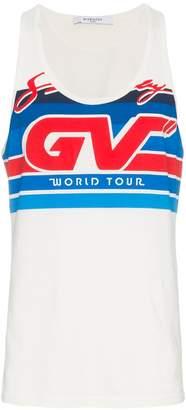 Givenchy motorcross logo vest