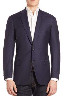 Brioni Colosseo Wool Jacket