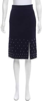 Jonathan Simkhai Embellished Bodycon Skirt