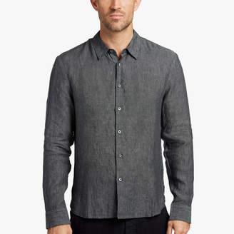 James Perse SLIM FIT LINEN SHIRT