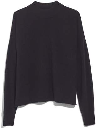Madewell Mock Neck Cashmere Sweater