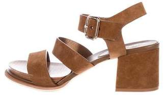 Tod's Suede Strap Sandals