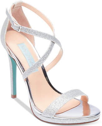 Betsey Johnson Blue By Andi Evening Sandals Women Shoes