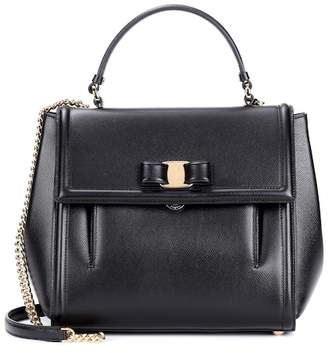 Salvatore Ferragamo Carrie leather shoulder bag