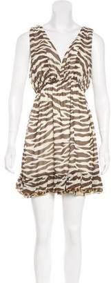 LaROK Printed Mini Dress