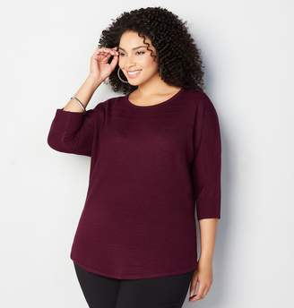 Avenue Variegate Stripe Pullover Sweater