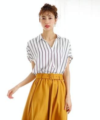INGNI (イング) - INGNI 裾タックトロミスキッパー半袖/シャツ