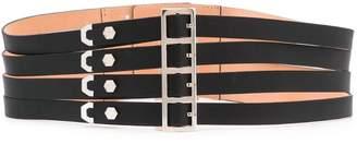 Philipp Plein multi-buckle original belt