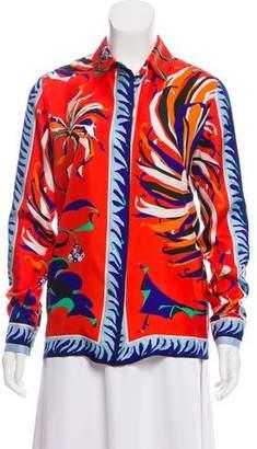 Emilio Pucci Silk Printed Top
