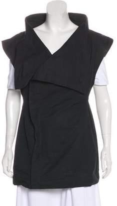 Rick Owens Asymmetrical Zip-Up Vest