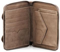 Proenza Schouler PS1 Small Zip Wallet, Smoke