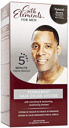 Silk Elements Permanent Hair Color System for Men Natural Brown