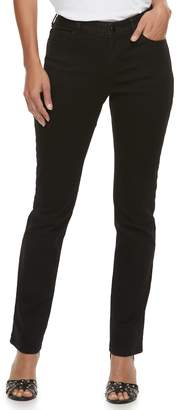 JLO by Jennifer Lopez Women's MidRise Straight-Leg Jeans