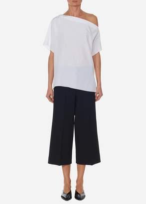 af12c00d94d5ae Tibi White Off Shoulder Women s Tops - ShopStyle