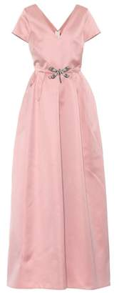Rochas Satin maxi dress