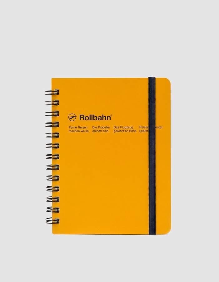 Rollbahn Spiral Notebook Pocket Memo 4.5