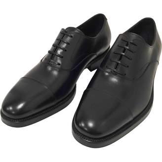 Salvatore Ferragamo Leather Derbies