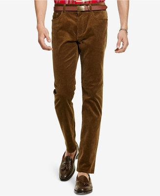 Polo Ralph Lauren Men's Straight-Fit Stretch Corduroy Pants $98.50 thestylecure.com