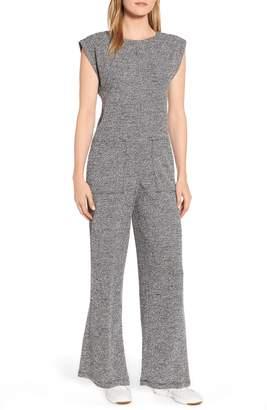 Lou & Grey Loyola Boucle Knit Jumpsuit