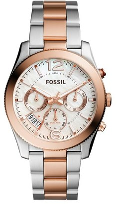 Women's Fossil 'Perfect Boyfriend' Multifunction Bracelet Watch, 39Mm $165 thestylecure.com
