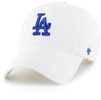 Women's '47 Clean Up La Dodgers Baseball Cap - White $25 thestylecure.com