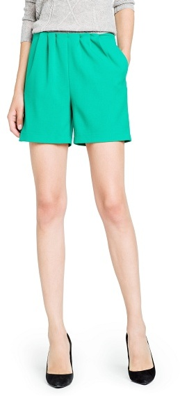 MANGO Outlet Pleated Shorts