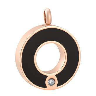Keepsake constantlife Circle of Life Crystal Inlay Stainless Steel Cremation Pendant Urn Necklace