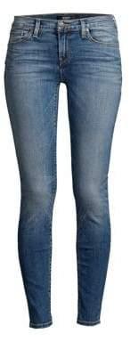 Hudson Jeans Krista Mid-Rise Super Skinny Jeans
