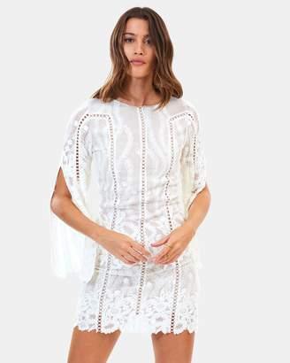 Cloud Nine Silk Long Sleeve Dress