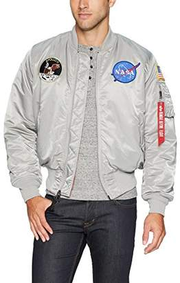 Alpha Industries Men's Apollo MA-1 MID Length Flight Jacket