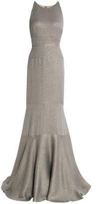 J. Mendel J.mendel Fluted Silk-Blend Jacquard Gown