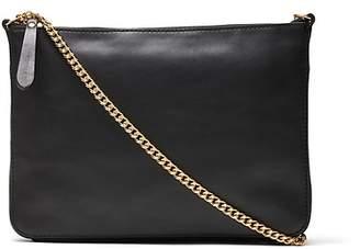 Banana Republic Italian Leather Chain Crossbody Bag