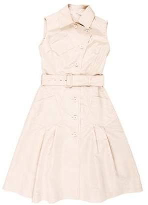 Prada Belted Knee-Length Dress