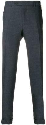 Canali side fastened trousers