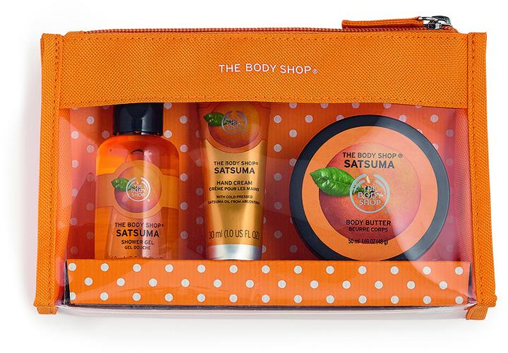 The Body Shop Satsuma Beauty Bag Gift Set