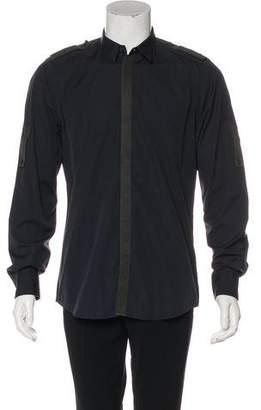 Dolce & Gabbana Military Dress Shirt