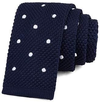 Bloomingdale's Boys Boys' Polka-Dot Knit Tie - 100% Exclusive