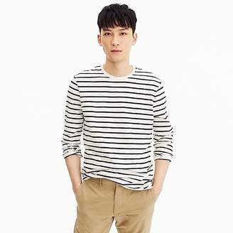 J.Crew Mercantile Broken-in long-sleeve T-shirt in deck stripe