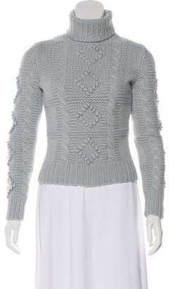 Celine Turtleneck Cashmere Sweater blue Turtleneck Cashmere Sweater